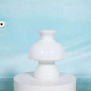 Vintage glazen murano tafellamp, space age sfeermaker 60s Bij de Tijd: vintage & designmeubelen