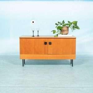 Vintage jaren 60 Musterring Pepita dressoir, teak sideboard Bij de Tijd: vintage & designmeubelen