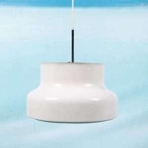 Scandinavisch design 'Bumling' hanglamp, 60s Anders Pehrson Bij de Tijd: vintage & designmeunbelen
