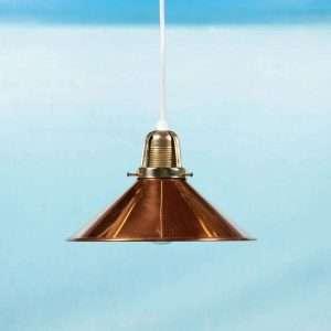 Vintage messing hanglamp jaren 60/70, regency bohemian Bij de Tijd: vintage & designmeubelen